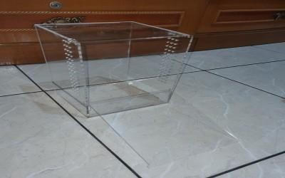 akrilik 15 15 25 cm minimalis (kandang tarantula)
